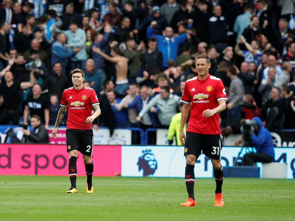 Huddersfield-Manchester United (Reuters)