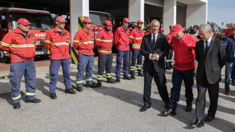 Marcelo Rebelo de Sousa visita a região da Sertã