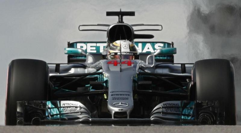 Lewis Hamilton - GP dos EUA (Lusa)