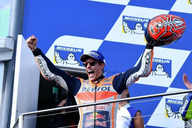 Marc Márquez - GP da Austrália (Lusa)