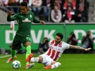 Colónia-Werder Bremen (Lusa)