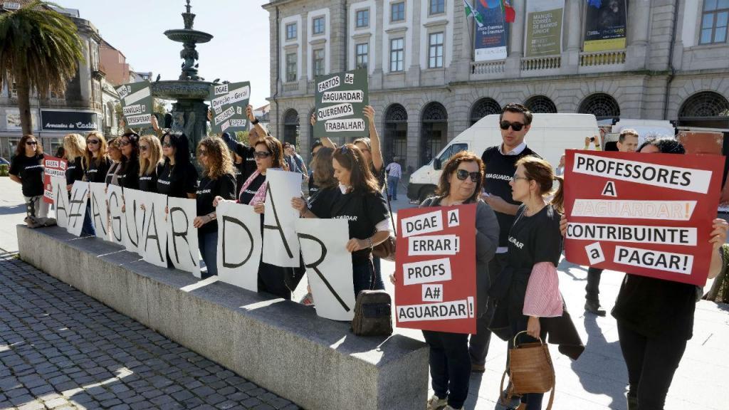 Manifestação de Professores Excluídos