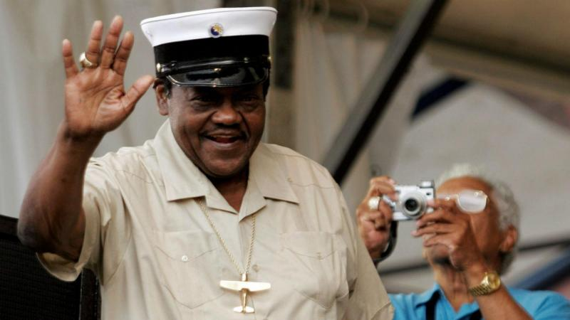 Morre o pioneiro do rock Fats Domino