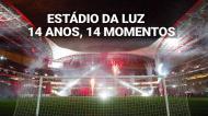 14 anos do Estádio da Luz