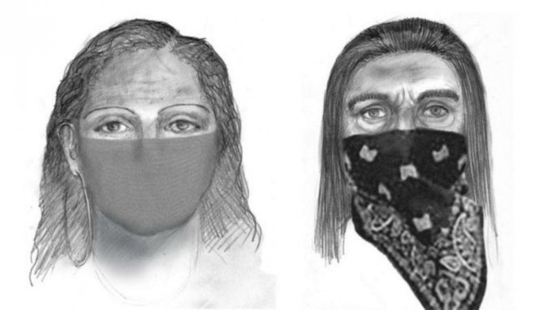 Retratos robô dos suspeitos do rapto de Sherri Papini