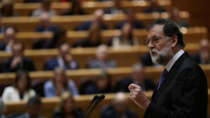Mariano Rajoy no Senado