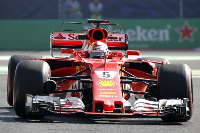 Sebastian Vettel - GP do México (Lusa)