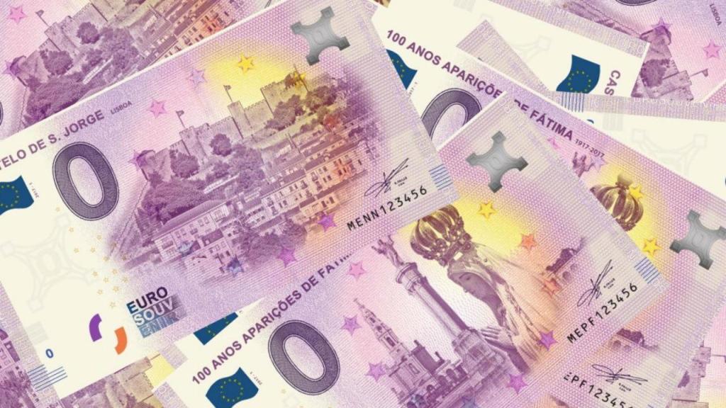 Notas de zero euros