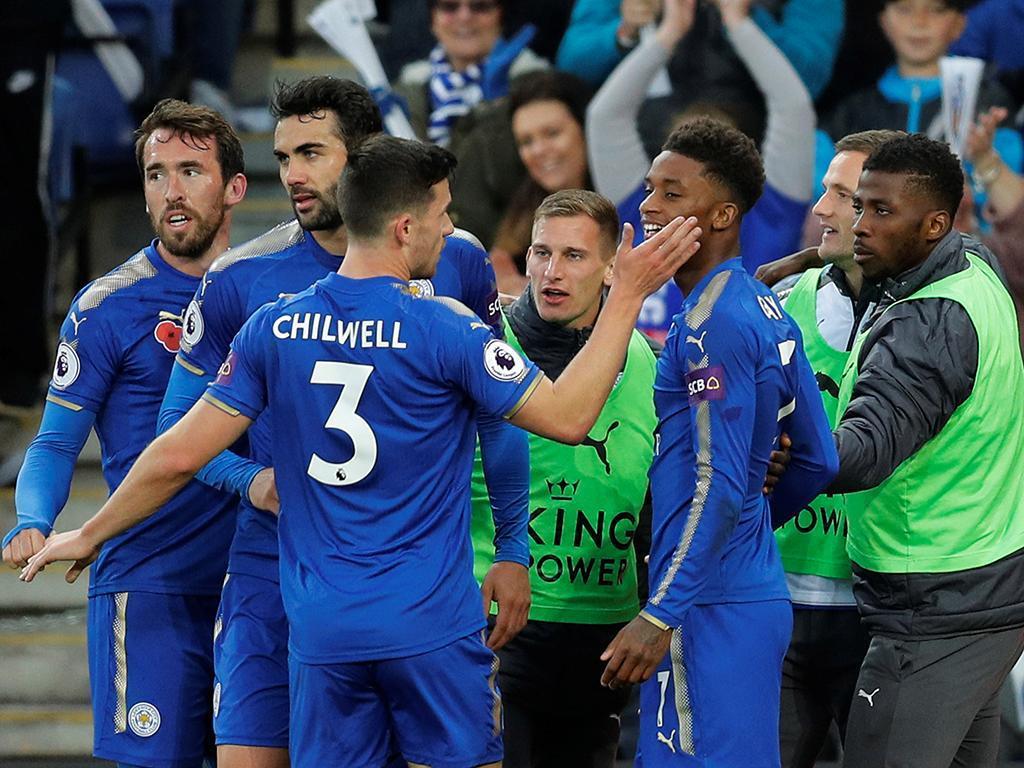 Leicester-Everton (Reuters)