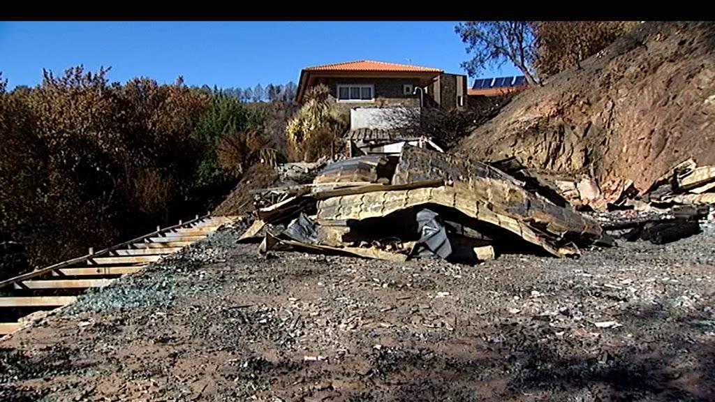Os incêndios tiveram um forte impacto no turismo do centro do país