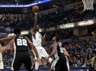 Indiana Pacers-San Antonio Spurs ( Reuters )