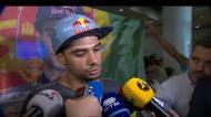 Miguel Oliveira na chegada a Lisboa: «O trabalho está a dar frutos»