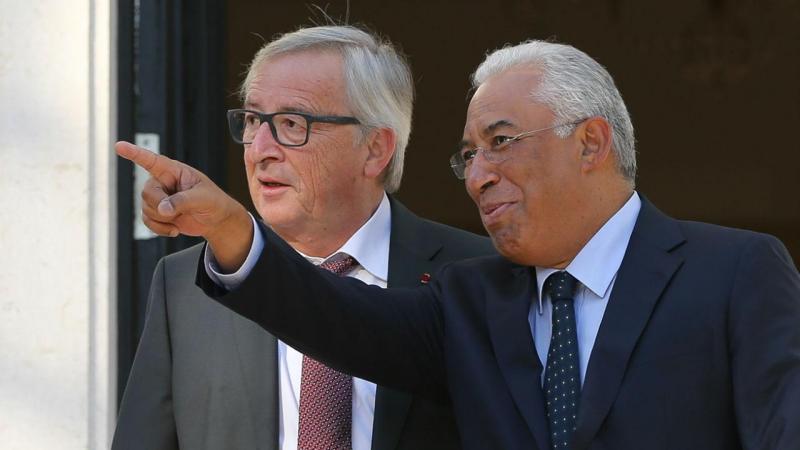 António Costa recebe Jean-Claude Juncker em São Bento
