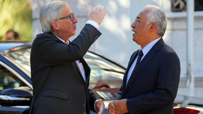 Jean-Claude Juncker em Portugal esteve reunido com Marcelo Rebelo de Sousa e António Costa