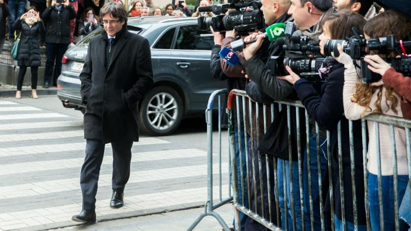 Carles Puigdemont na Bélgica