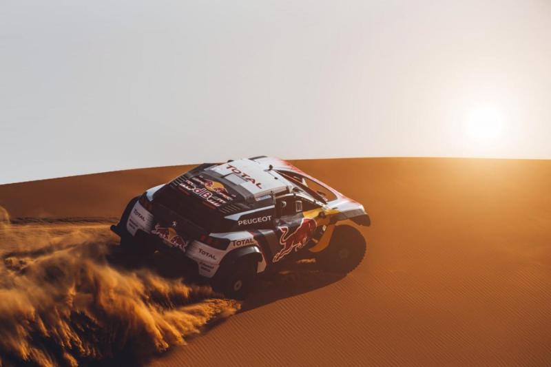Peugeot Total com dream Team no Dakar'2018