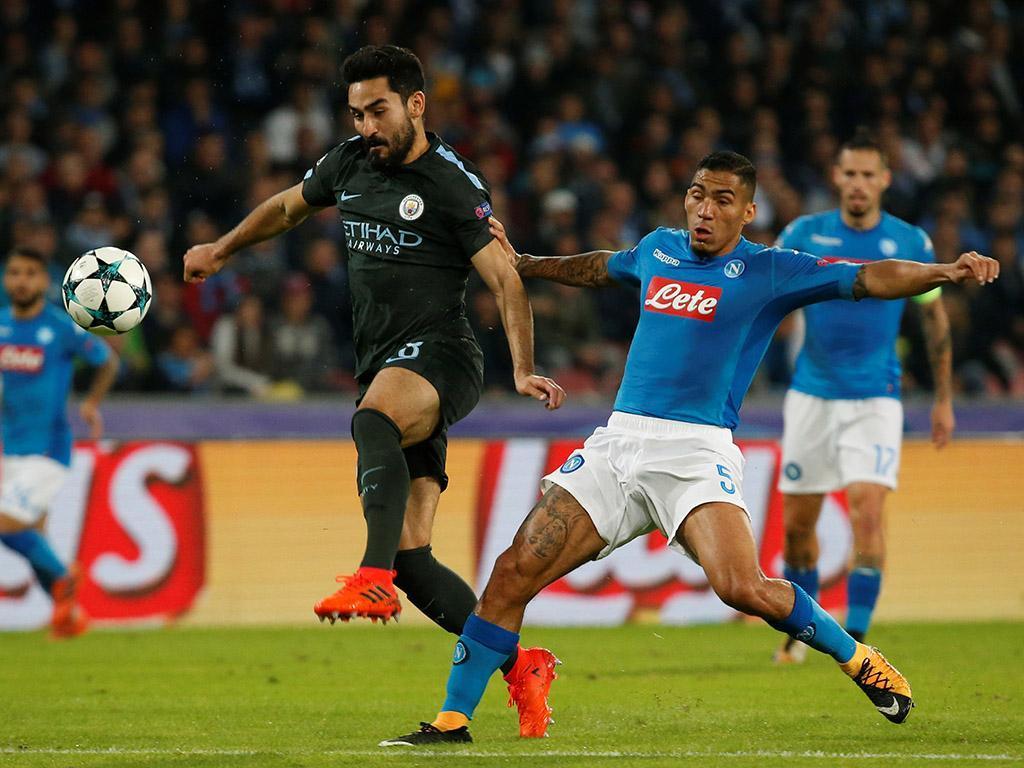 Nápoles-Manchester City (Reuters)