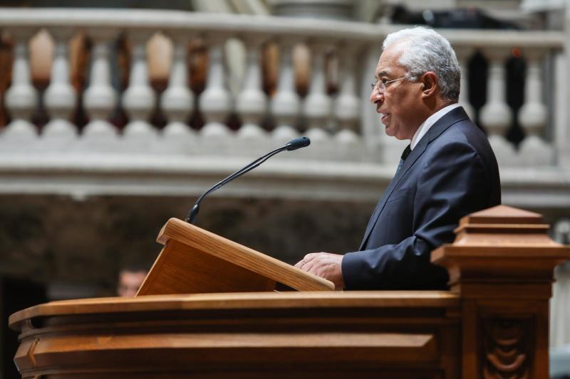 António Costa no debate do OE2018