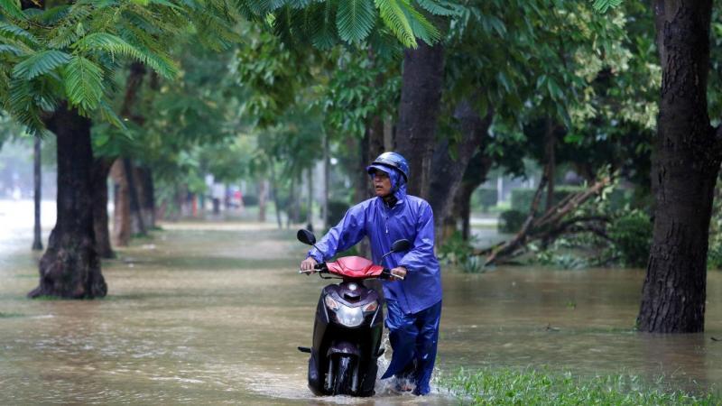 Tufão no Vietname