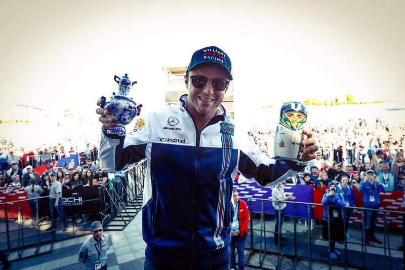Mensagens de apoio a Felipe Massa