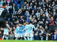 Man City-Arsenal (Lusa)