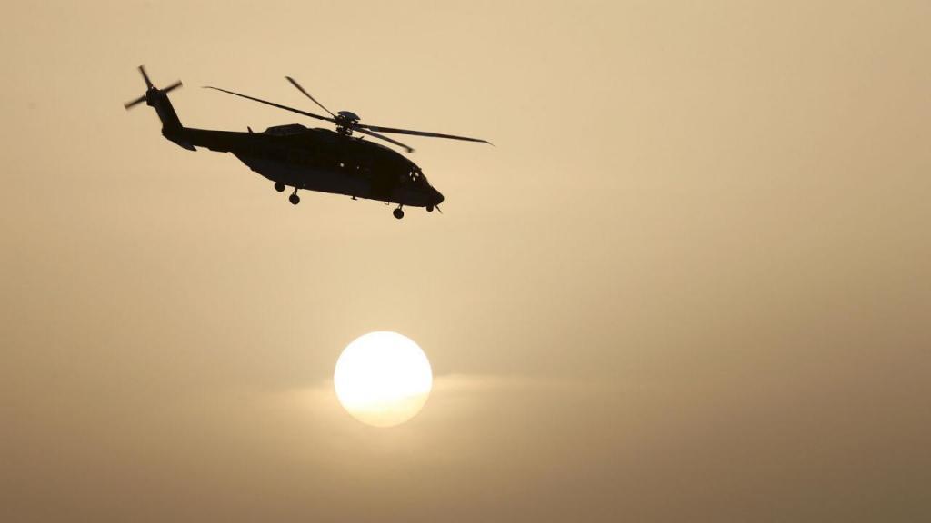 Helicóptero das forças especiais da Arábia Saudita