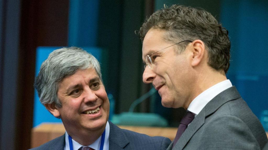 Mário Centeno e Jeroen Dijsselbloem