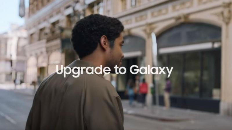 Novo anúncio da Samsung