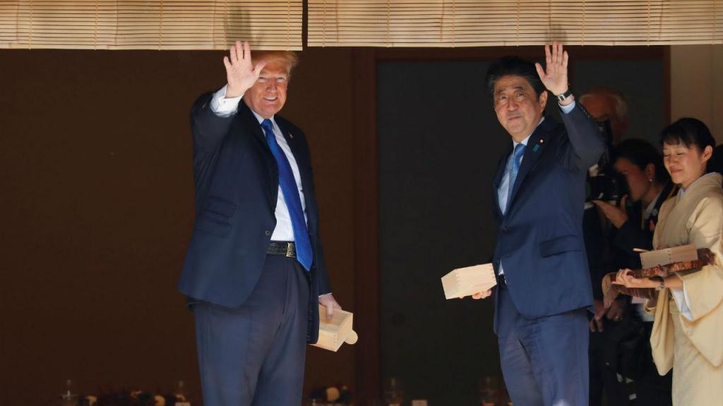 Donald Trump está de visita à Ásia, durante vários dias