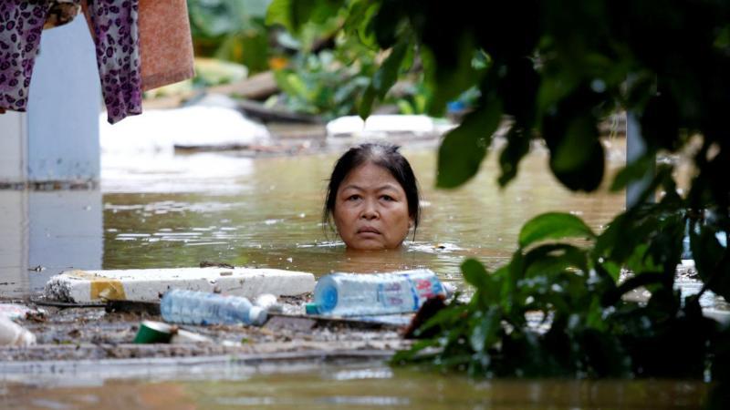 Tufão Damrey no Vietname