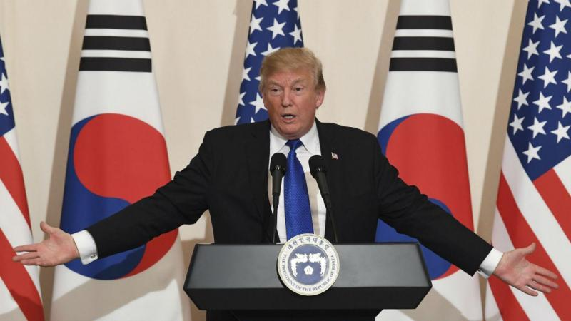 Donald Trump em Seul