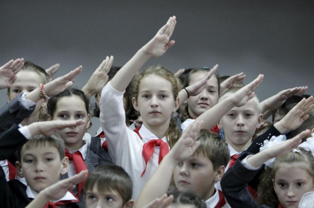 Crianças na Rússia