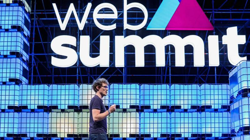 Paddy Cosgrave na Web Summit 2017