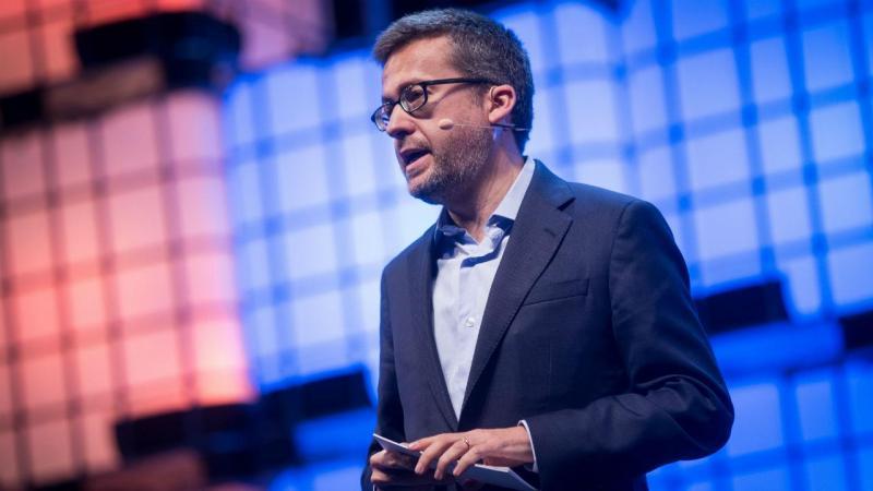 Carlos Moedas na Web Summit 2017