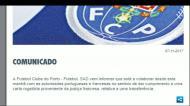 FC Porto explica buscas: