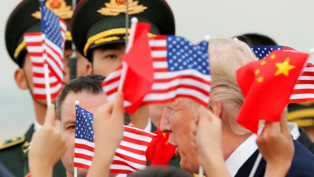 Donald Trump na China