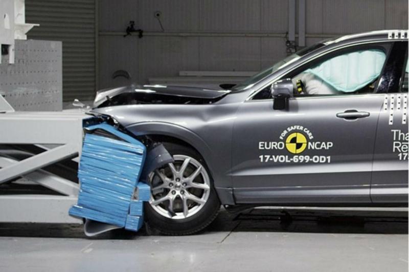 Volvo XC60 passou com 98% na proteção dos ocupantes em caso de embate