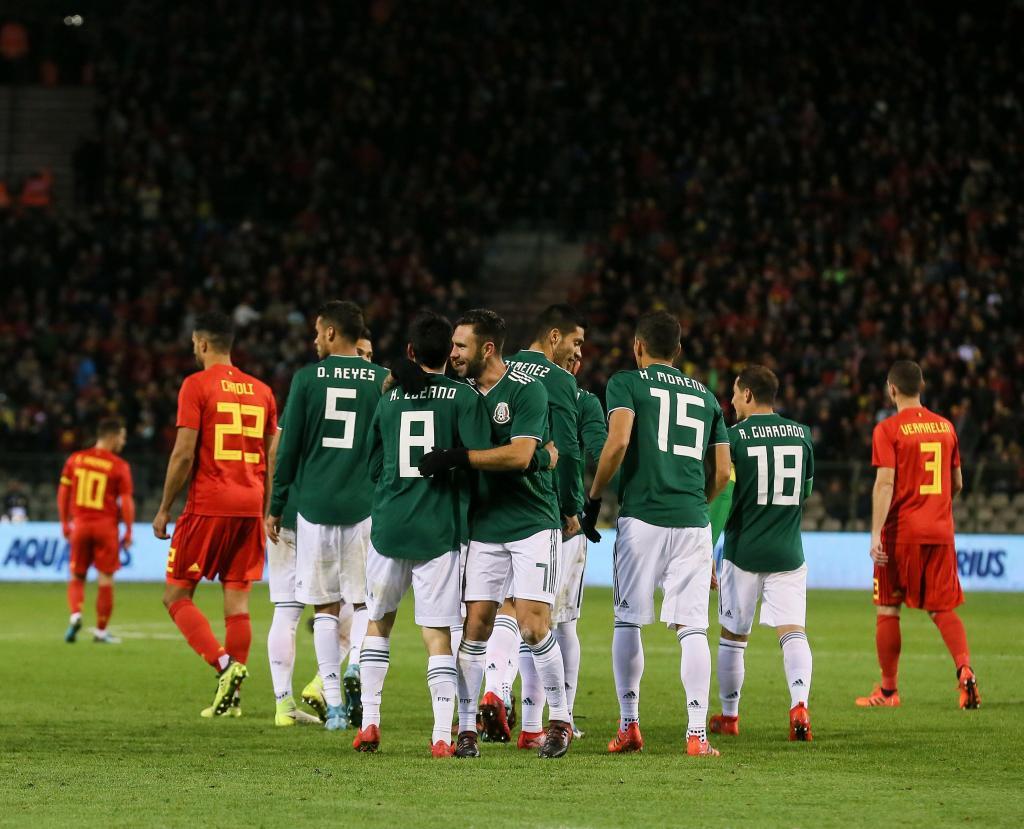Bélgica-México (Lusa)