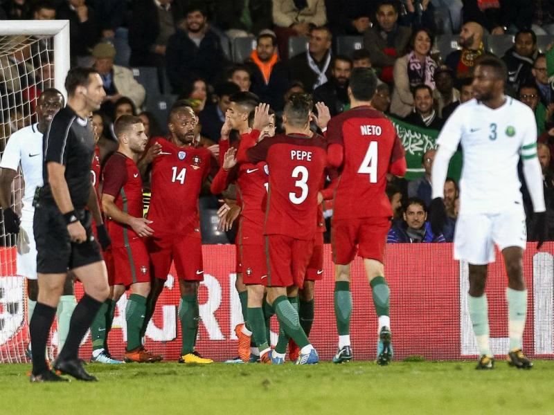 Portugal-Arábia Saudita (Lusa)