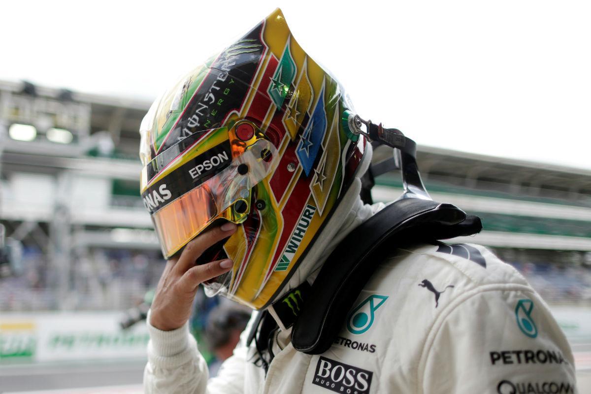 Lewis Hamilton - GP do Brasil (Reuters)