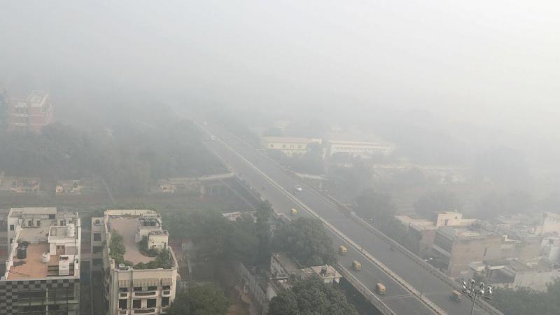 Poluição em Nova Deli