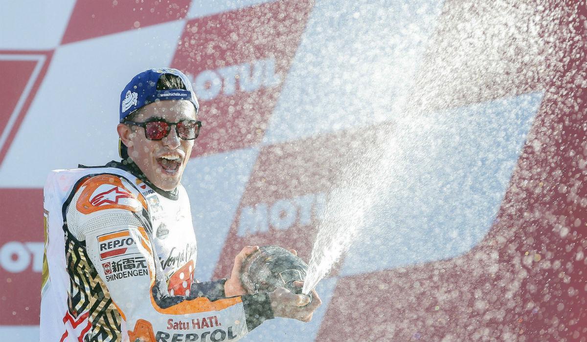 Marc Márquez - GP de Valência (Lusa)