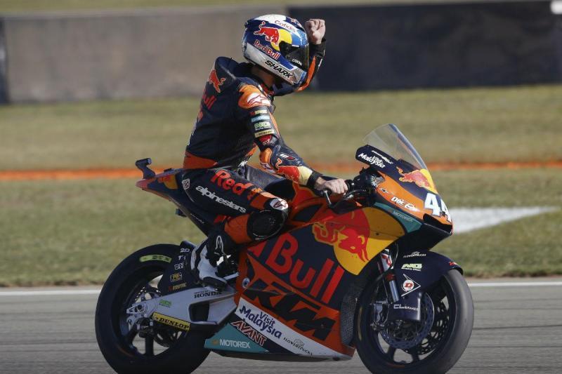 Miguel Oliveira - GP de Valência (Lusa)