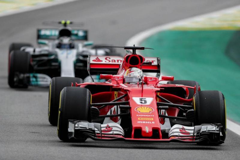 Sebastian Vettel - GP do Brasil (Lusa)