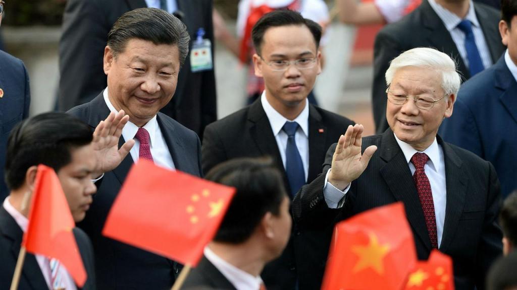 Xi Jinping e Nguyen Phu Trong