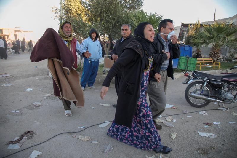 Sismo no Irão