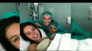Alana Martina, o quarto filho de Cristiano Ronaldo já nasceu