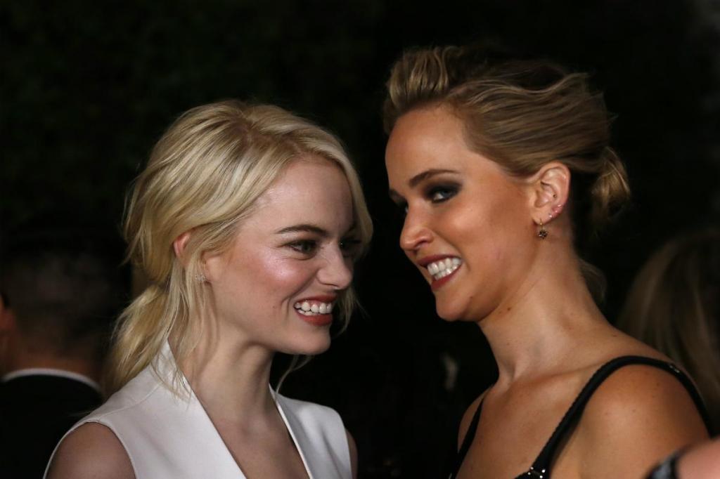 Emma Stone e Jennifer Lawrence