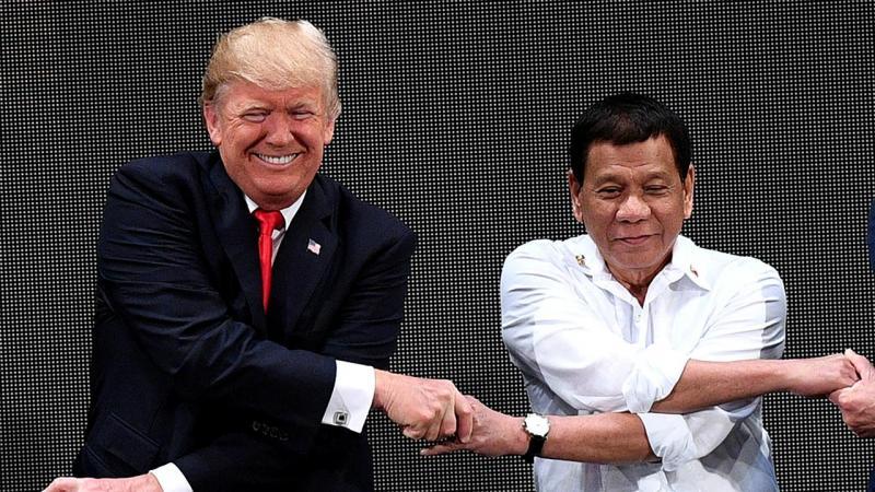 Donald Trump e Rodrigo Duterte