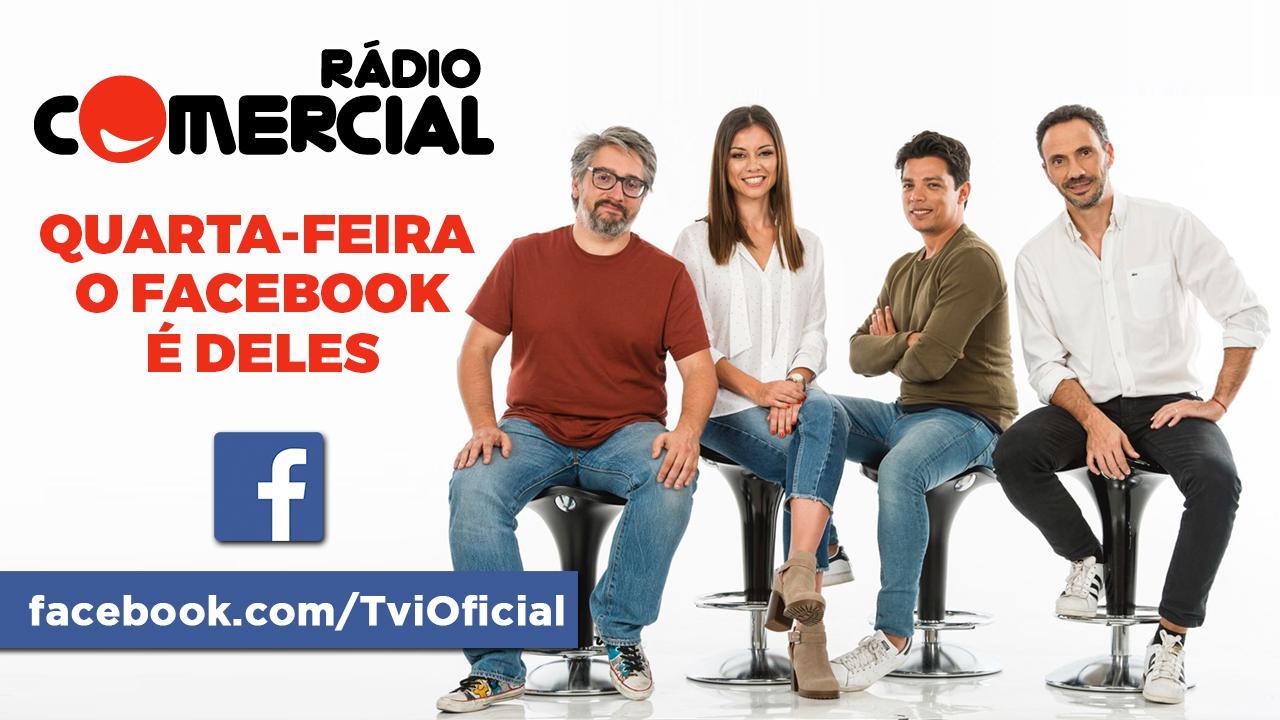 Facebook takeover da Rádio Comercial